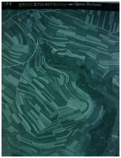 Luftbild Mückenbachtal 1946